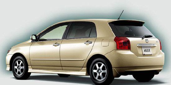 Toyota Allex parts in Sydney Melbourne Logan City