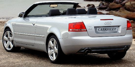 Audi A4 Cabriolet parts in Sydney Melbourne Logan City
