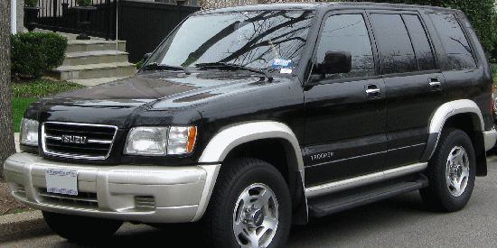 Isuzu Trooper Bighorn parts in Algiers Boumerdas Annaba