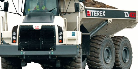 Terex trucks parts in Luanda N'dalatando Soyo
